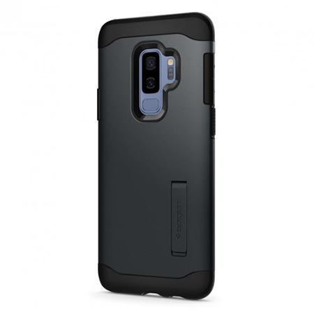 Etui Spigen na Samsung Galaxy S9 Plus - Tough Armor Szary