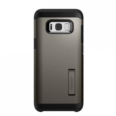 Etui Spigen na Samsung Galaxy S8 Plus - Tough Armor Szary