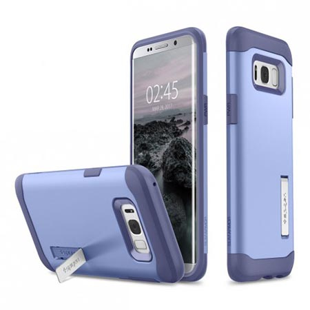 Etui Spigen na Samsung Galaxy 8 Plus - Tough Armor Liliowy