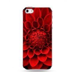 Etui czerwony kwiat dali