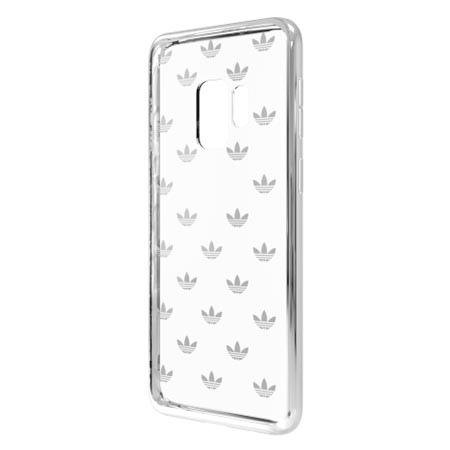 Etui Adidas na Samsung Galaxy S9 Plus - Clear Case Bezbarwny