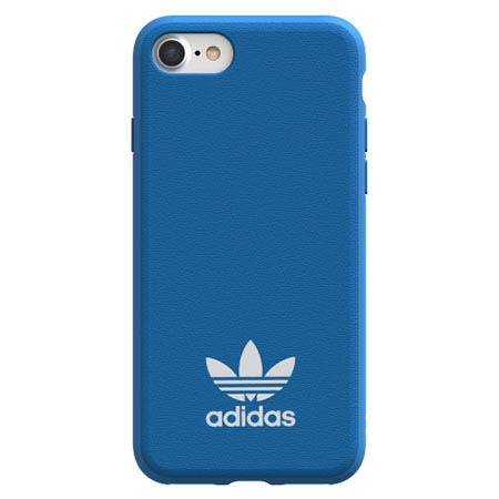 Etui Adidas na iPhone 7 - Moulded Case Niebieski