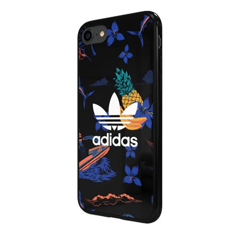 Etui Adidas na iPhone 8 - Floral Case Owoce (36065) - Etuistudio