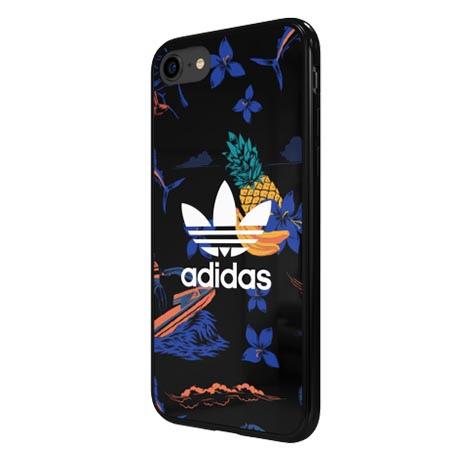 Etui Adidas na iPhone 8 - Floral Case Owoce