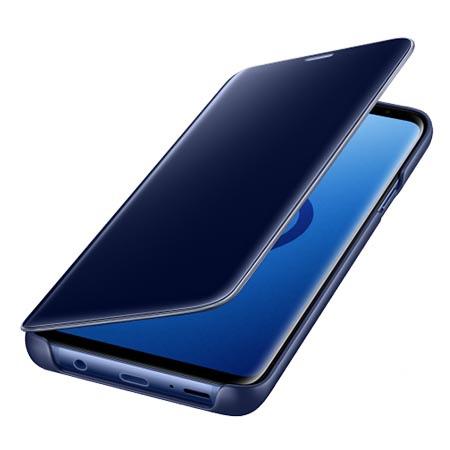 Oryginalne etui na Samsung Galaxy S9 Plus - Clear View Niebieski