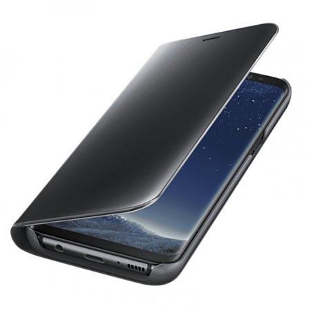 Oryginalne etui na Samsung Galaxy S8 - Clear View - Czarny