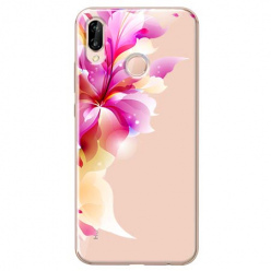 Etui na Huawei P20 Lite - Bajeczny kwiat.