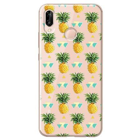 Etui na Huawei P20 Lite - Ananasowe szaleństwo.