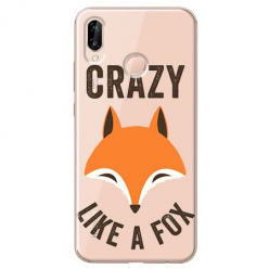 Etui na Huawei P20 Lite - Crazy like a fox.
