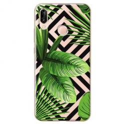 Etui na Huawei P20 Lite - Egzotyczne liście bananowca.