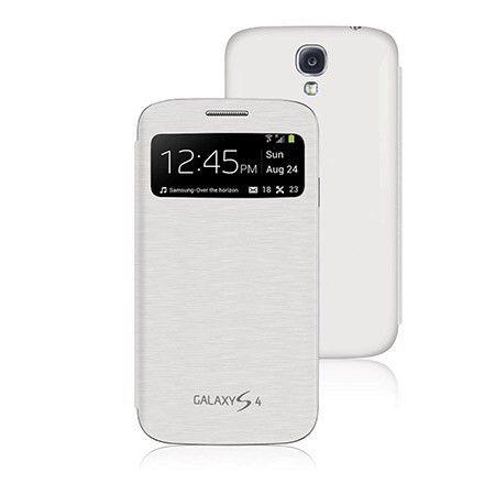 Samsung Galaxy S4 etui S-view flip cover z klapką - Biały PROMOCJA !!!