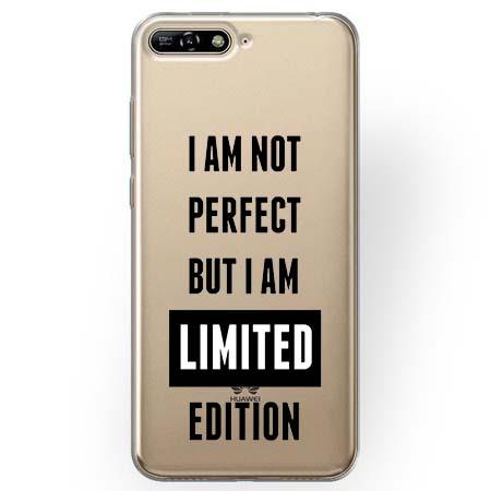 Etui na Huawei Y6 2018 - I Am not perfect…