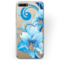 Etui na Huawei Y6 2018 - Niebieski kwiat północy.