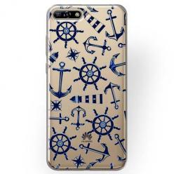 Etui na Huawei Y6 2018 - Ahoj wilki morskie