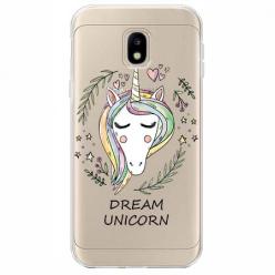 Etui na Samsung Galaxy J3 2017 - Dream unicorn - Jednorożec.