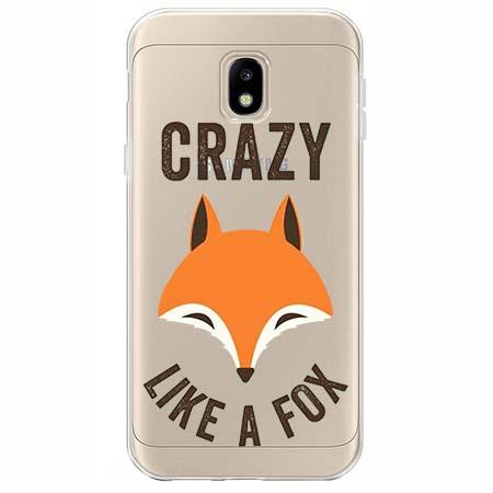 Etui na Samsung Galaxy J3 2017 - Crazy like a fox.