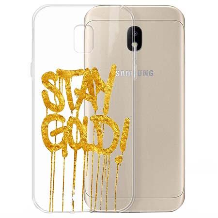 Etui na Samsung Galaxy J3 2017 - Stay Gold.
