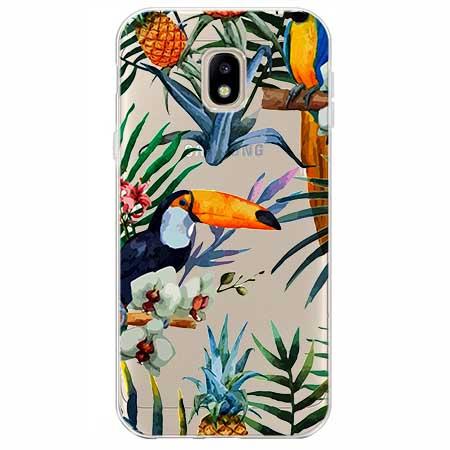 Etui na Samsung Galaxy J3 2017 - Egzotyczne tukany.
