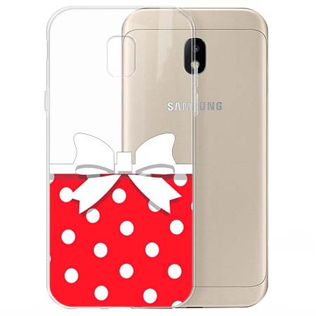 Etui na Samsung Galaxy J3 2017 - Gustowna kokardka.