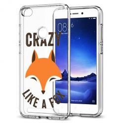 Etui na Xiaomi Redmi 3S - Crazy like a fox
