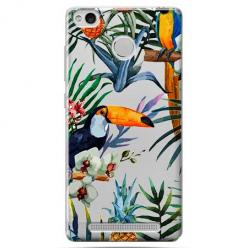 Etui na Xiaomi Redmi 3S - Egzotyczne tukany.