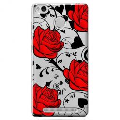 Etui na Xiaomi Redmi 3S - Czerwone róże.
