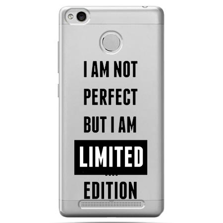 Etui na Xiaomi Redmi 3 Pro - I Am not perfect…