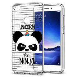 Etui na Xiaomi Redmi 3 Pro - Ninja Unicorn - Jednorożec.