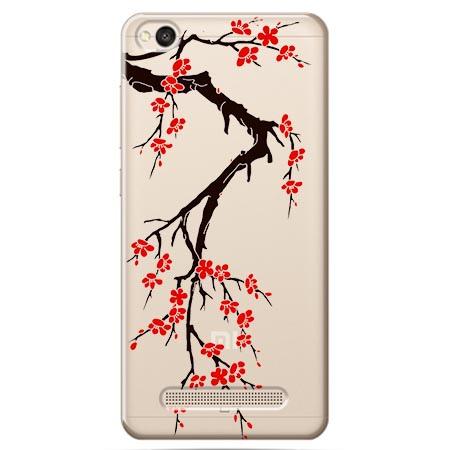 Etui na Xiaomi Redmi 4A - Krzew kwitnącej wiśni.