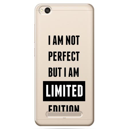 Etui na Xiaomi Redmi 4A - I Am not perfect…