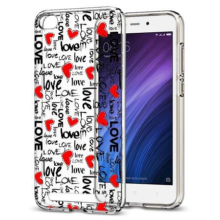 Etui na Xiaomi Redmi 4A - Love, love, love…