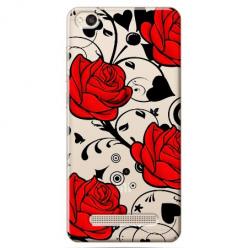 Etui na Xiaomi Redmi 4A - Czerwone róże.