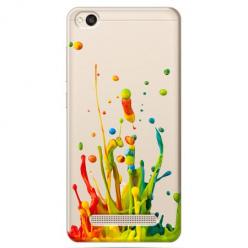 Etui na Xiaomi Redmi 4A - Kolorowy splash.