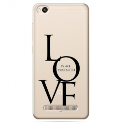 Etui na Xiaomi Redmi 4A - All you need is LOVE.