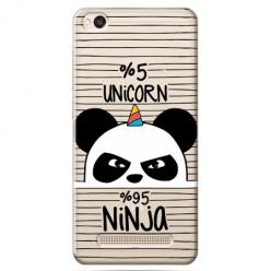 Etui na Xiaomi Redmi 4A - Ninja Unicorn - Jednorożec.