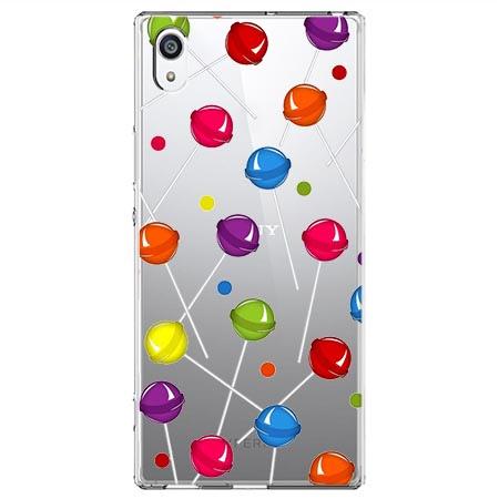 Etui na Sony Xperia XA1 - Kolorowe lizaki.