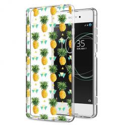 Etui na Sony Xperia XA1 - Ananasowe szaleństwo.