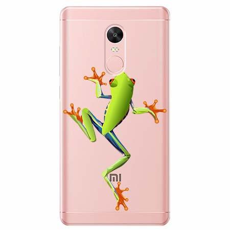 Etui na telefon Xiaomi Note 4X - Zielona żabka.