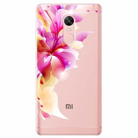Etui na telefon Xiaomi Note 4X - Bajeczny kwiat.