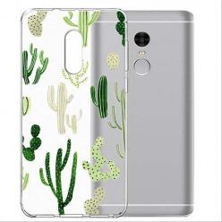 Etui na telefon Xiaomi Note 4X - Kaktusowy ogród.