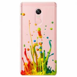 Etui na telefon Xiaomi Note 4X - Kolorowy splash.