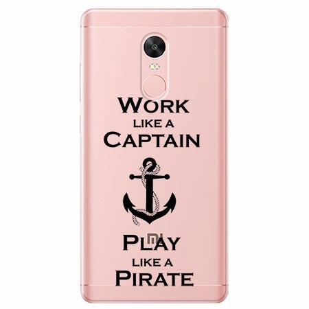 Etui na telefon Xiaomi Note 4X - Work like a Captain…