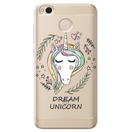 Etui na telefon Xiaomi Note 5A - Dream unicorn - Jednorożec.