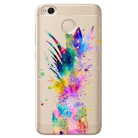 Etui na telefon Xiaomi Note 5A - Watercolor ananasowa eksplozja.