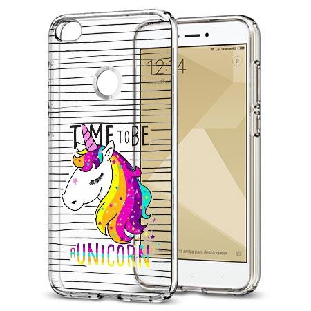 Etui na telefon Xiaomi Note 5A - Time to be unicorn - Jednorożec.