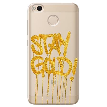 Etui na telefon Xiaomi Note 5A - Stay Gold.