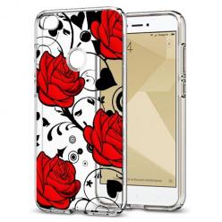 Etui na telefon Xiaomi Note 5A - Czerwone róże.