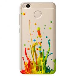 Etui na telefon Xiaomi Note 5A - Kolorowy splash.
