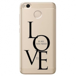 Etui na telefon Xiaomi Note 5A - All you need is LOVE.