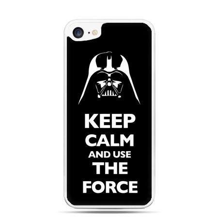 Etui na telefon iPhone 7 - Keep calm and use the force - Promocja !!!
